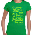 Shirt Irish green Krankenschwester