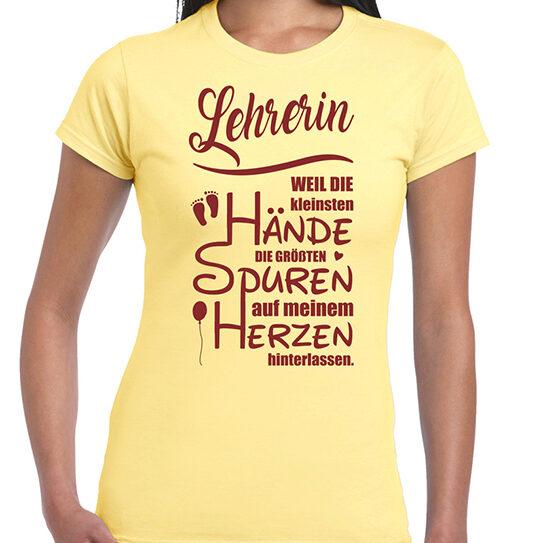 Shirt daisy Lehrerin