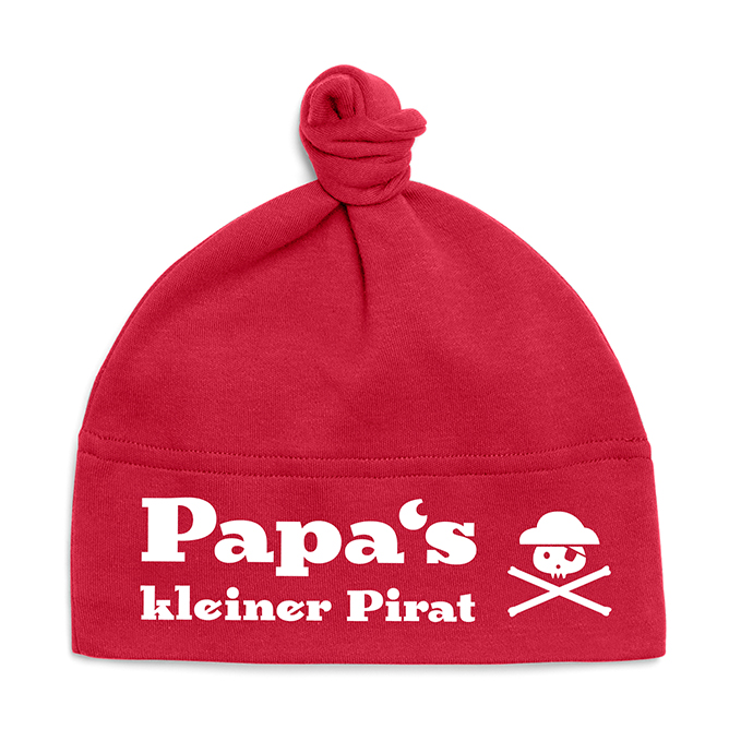 _Papas_kleiner_Pirat_red_white