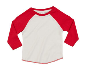 washed white / red